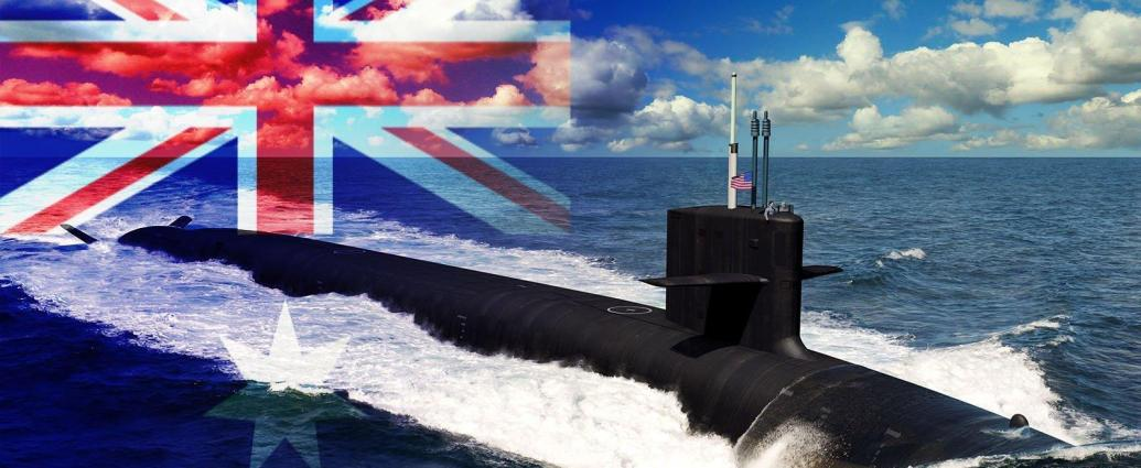 Australia is headed towards nuclear powered submarines for the first time, under a new agreement with the US and UK. (Graphic by Breaking Defense; original illustration by US Navy, via DVIDS)