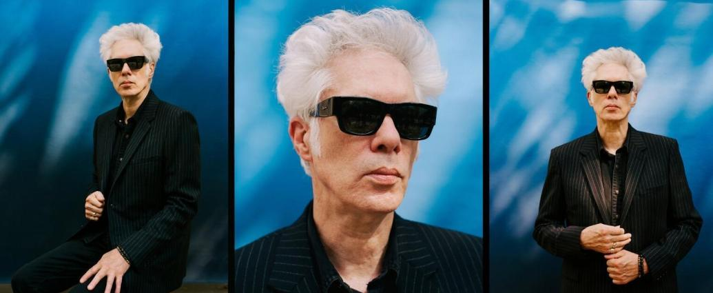 """""""I can work on them anywhere,"""" Jarmusch said of his collages. """"I make them in hotel rooms. Most of the time I do it between the rigors of making a film.""""Credit...Josefina Santos for The New York Times"""