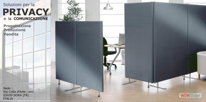 CATEGORIE PRODOTTI  Pannelli divisori pareti mobili separ su ruote schermi flessibili