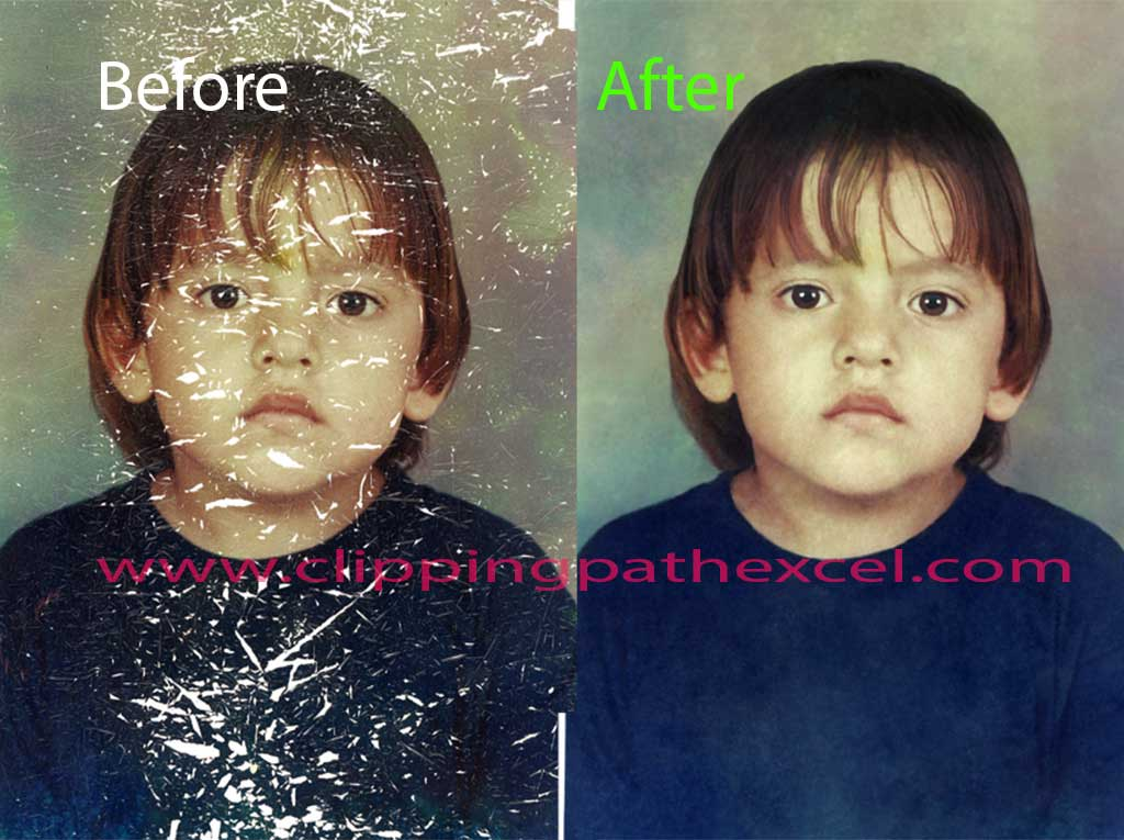 old pictures restore