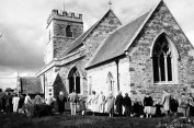 Clipping the Church, archival image