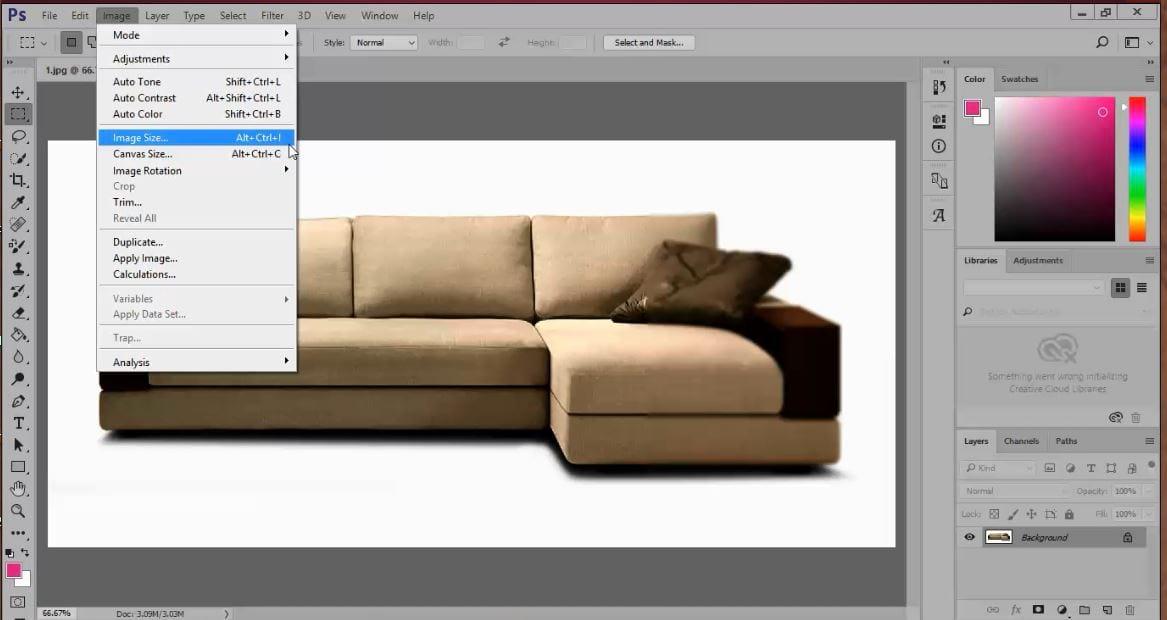 retouching tutorial