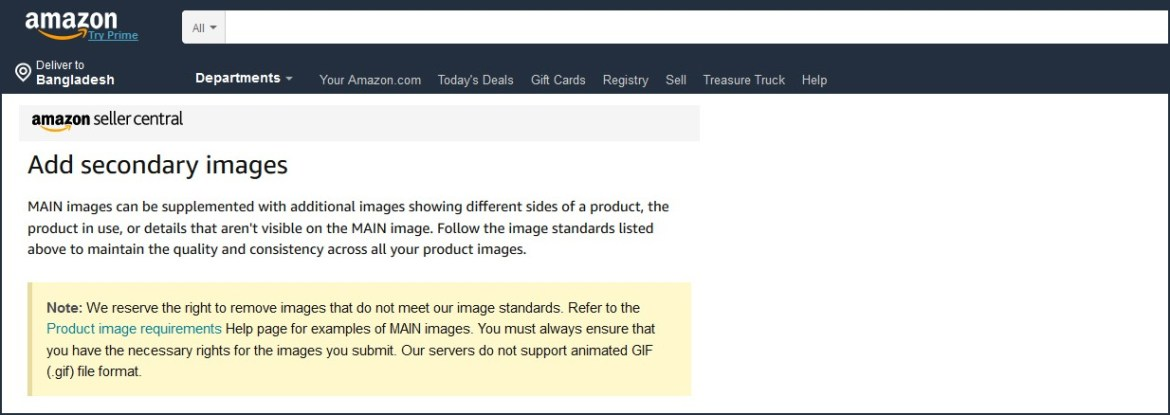 amazon product photos requirements