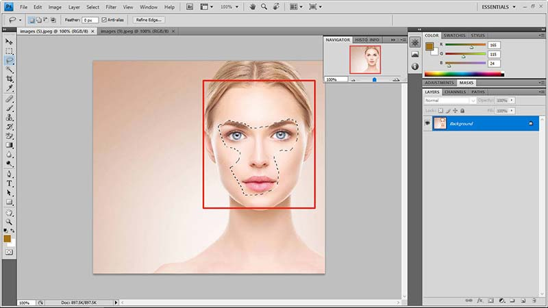 face swap in photoshop tutorial 3