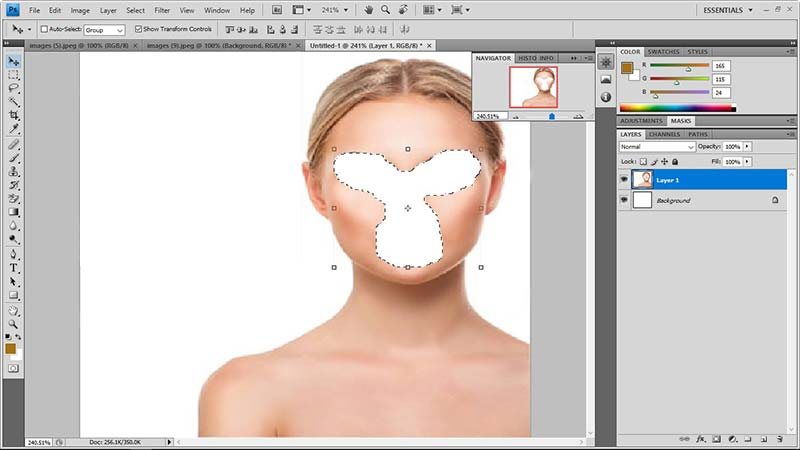 face swap in photoshop tutorial 9