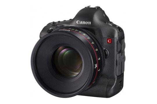 EOS C DSLR movie camera