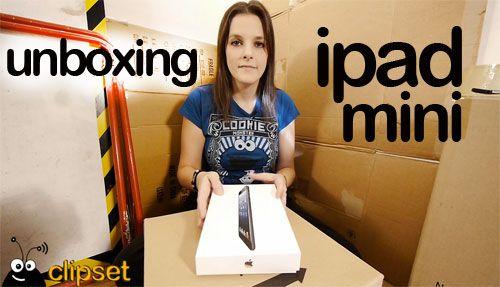 unboxing ipad mini