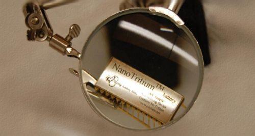 Bateria NanoTritio reducidas