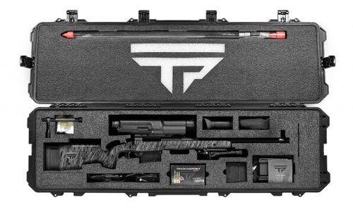 Maletín rifle con mira automática