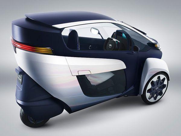 Toyota i-ROAD vehiculo electrico biplaza