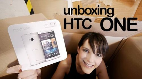 unboxing htc one