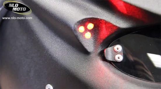 Laser casco Depredador Predator