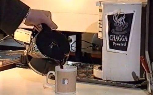 Primera webcam y cafetera