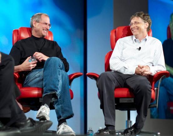Jobs y Gates 4