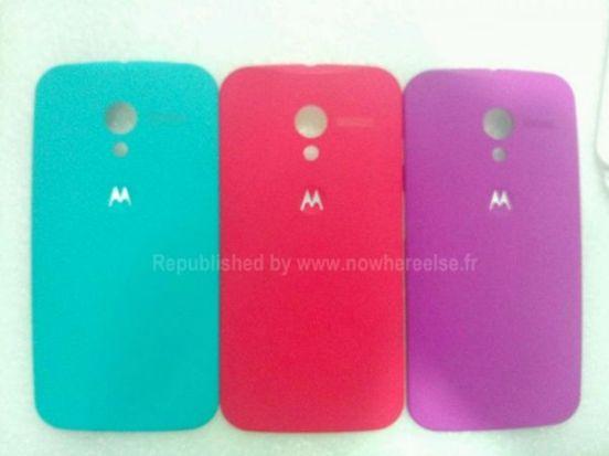 Motorola Moto X phone colores Google clipset