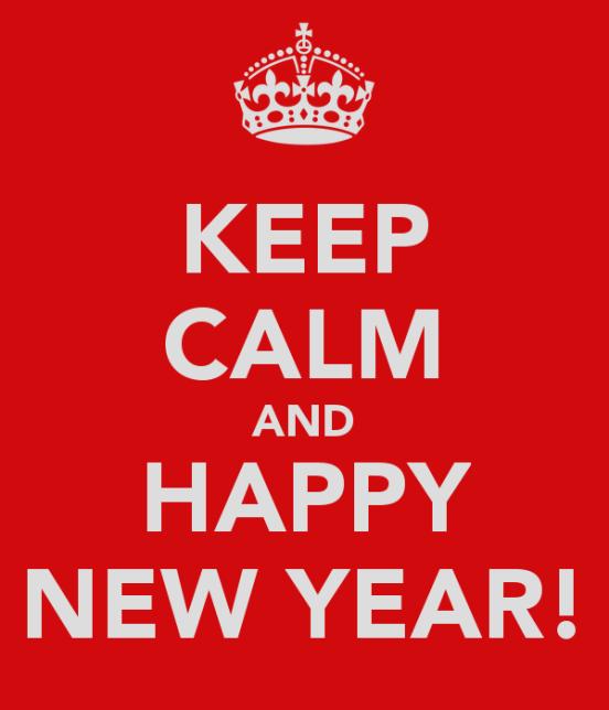 keep calm&happy-new year