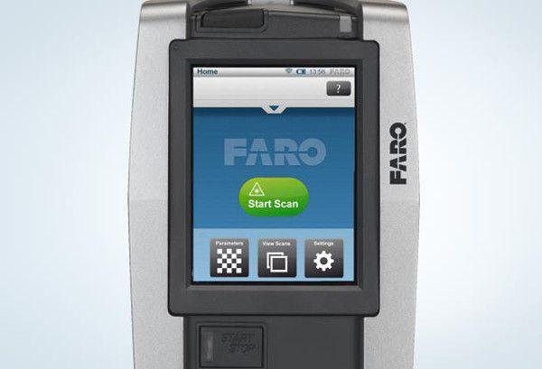 Pantalla Focus3D escáner tridimensional clipset