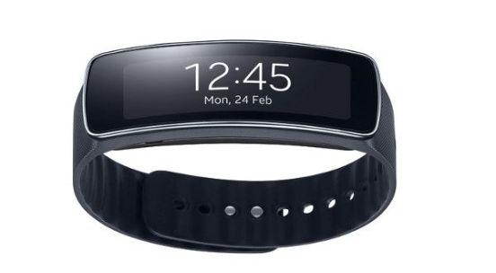Samsung Gear Fit clipset