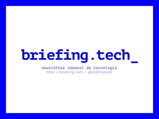 portada briefing tech