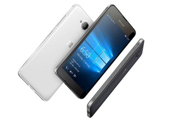 Lumia 650 girado