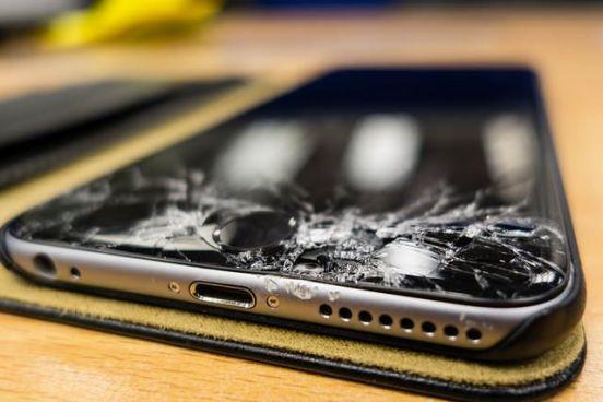 Pantalla Rota en un iPhone 6