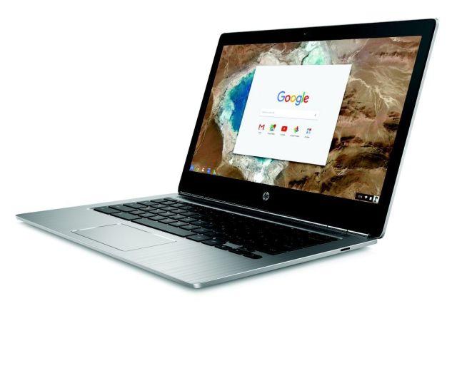 HP Chromebook 13 abierto