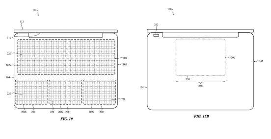 apple teclado patente 2
