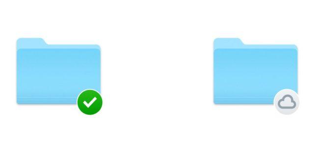 Carpetas de Dropbox descargada y sincronizada
