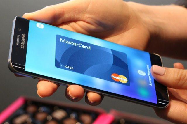 Samsung Pay con tarjeta Mastercard