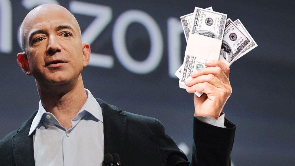 bezos amazon money