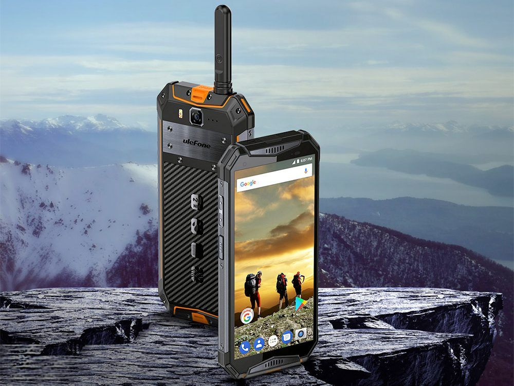 ulefone armor 3t walkie talkie