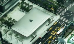 apple store taiwan roof