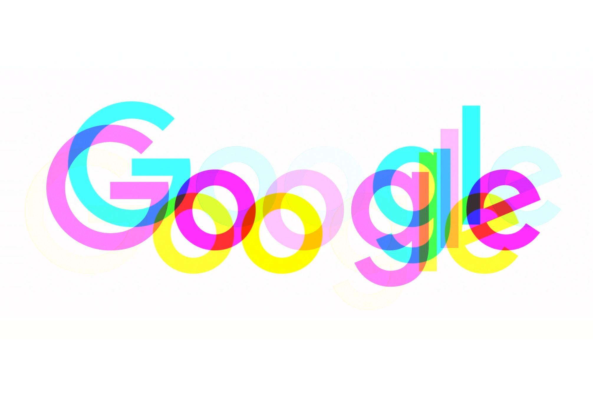 Logo de Google moshed