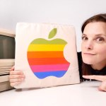 apple superbowl cushion cojin