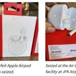 Aduana confisca miles de AirPods falsos…que resultan ser Buds de OnePlus