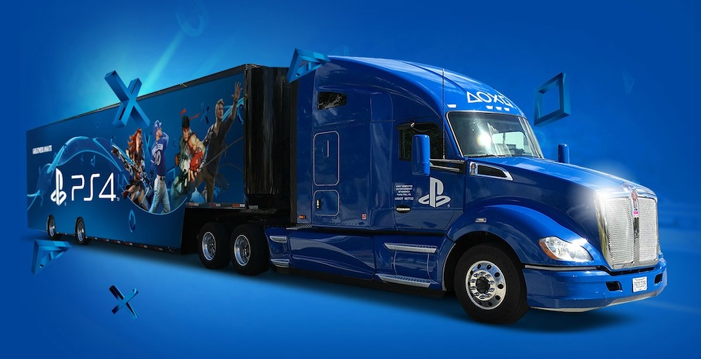 ps5 iPhone robo camion