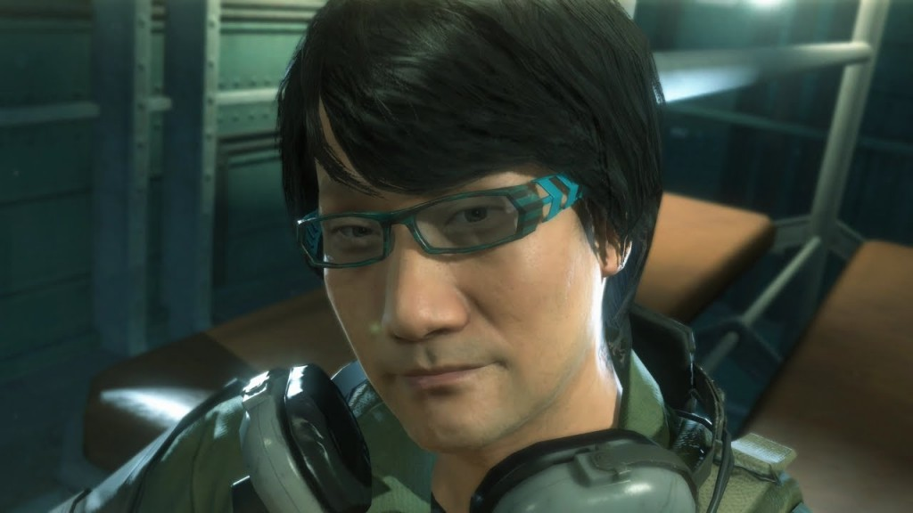Kojima as he appears in Ground Zeroes