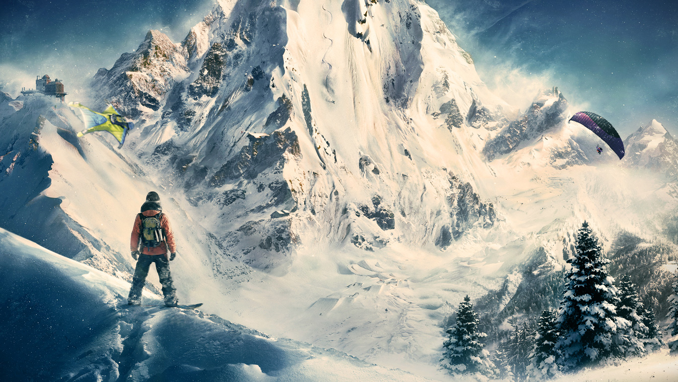 Xbox One - Free Version Of Ubisoft'-s Extreme Sports Game Steep Is ...