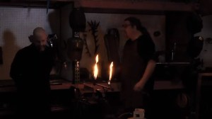 In this video, Neil is yelled at by a blacksmith for not paying the electricity bill. These skits are definitely worth a gander.