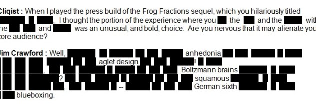 frog fractions 2 press build