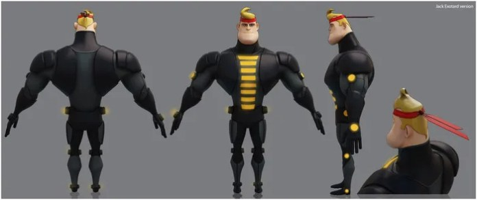 Early Development Render of Jack Dancer - NOT FINAL