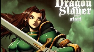 Step into the chain-mail of this sword wielding brunette in Dragon Slayer.