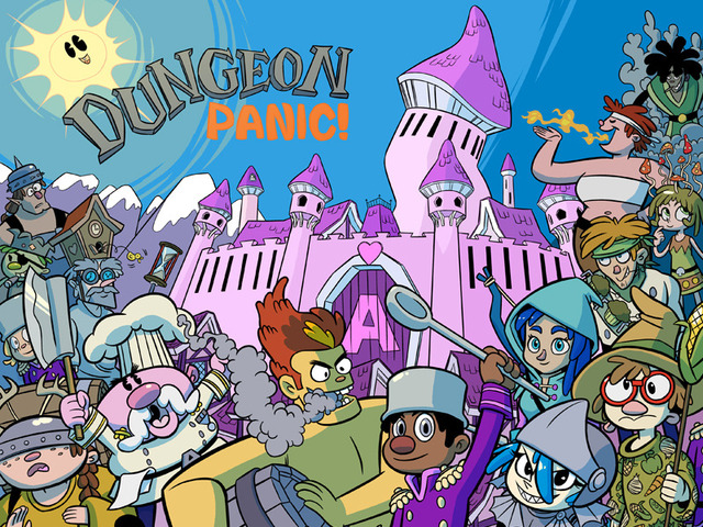 Dungeon Panic is a Kickstarter funded roguelike that raised $13,000 in 2012.