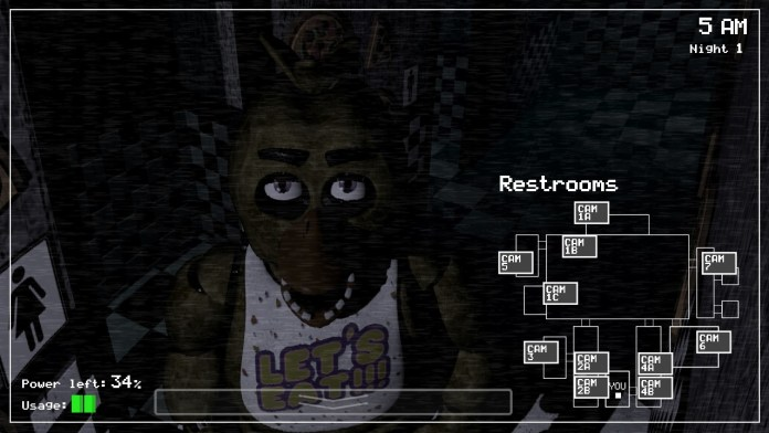 Chica is watching you!