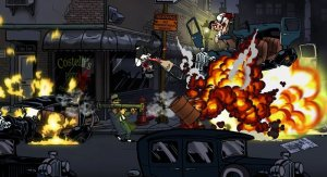Guns, Gore & Cannoli is a Zombie Filled shooter for Kickstarter