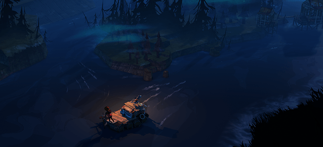 The Flame in the Flood, A survival Kickstarter game by The Molasses Flood