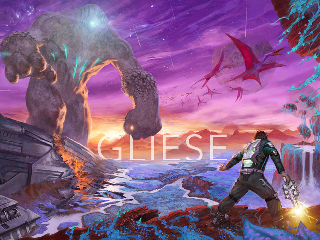 Gliese is an action platformer on Kickstarter that's inspired by Half-Life, Portal, and Borderlands.