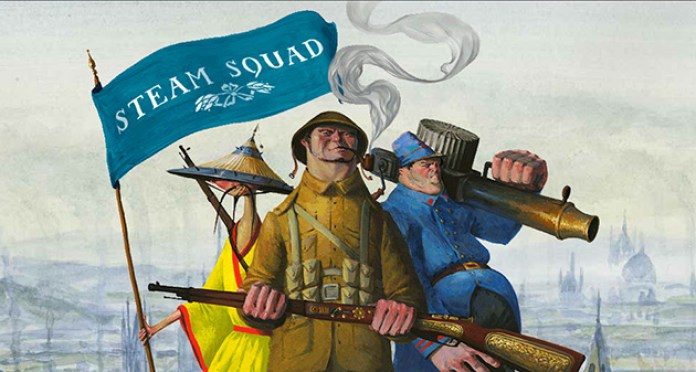 Steam Squad is a real time strategy game set in an alternate steampunk powered WW1.