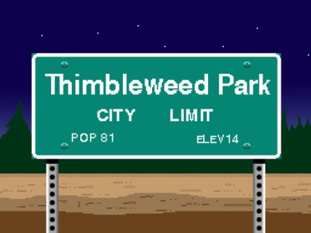 Thimbleweed Park is a classic style adventure game on Kickstarter from the creators of Maniac Mansion.