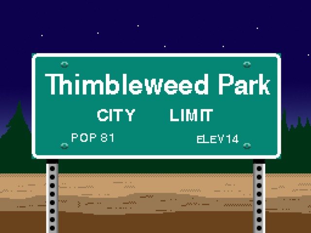 Adventure Game Thimbleweed Park Will Be Opening Soon